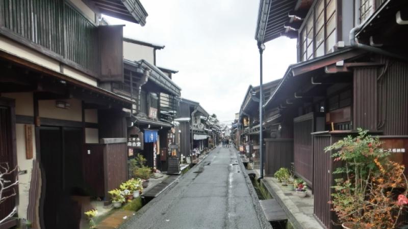 高山観光古い町並み