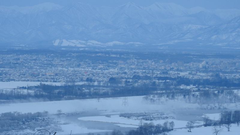 冬の十勝川温泉郷