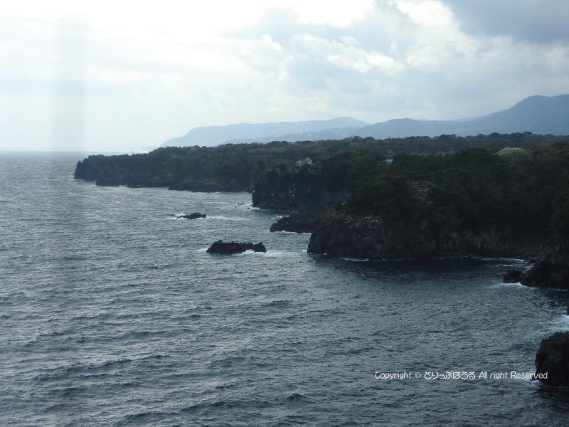 城ヶ崎海岸の灯台