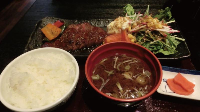 高山飛騨牛ステーキ