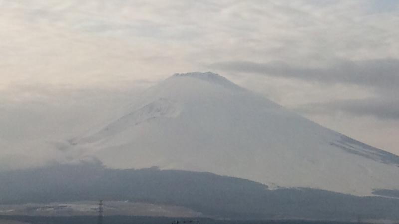 富士岡駅見晴らし台の富士山