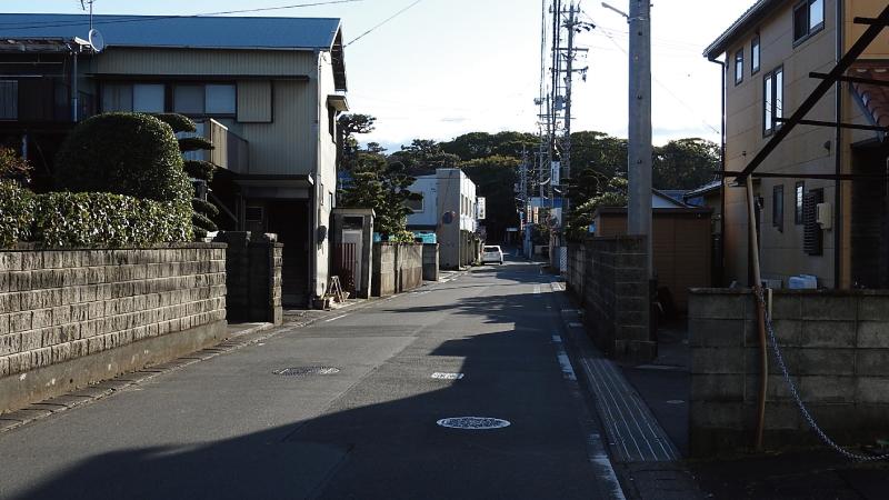 三保松原入口バス停から徒歩