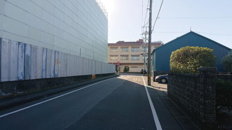 三保松原入口バス停から徒歩3