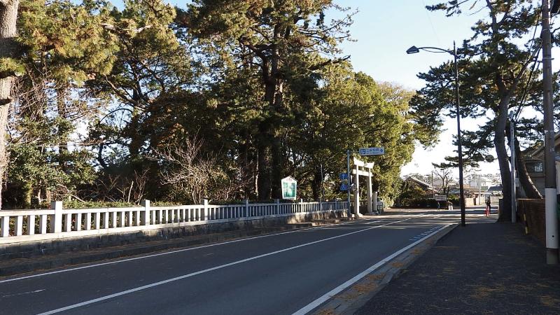 三保松原入口バス停から徒歩4