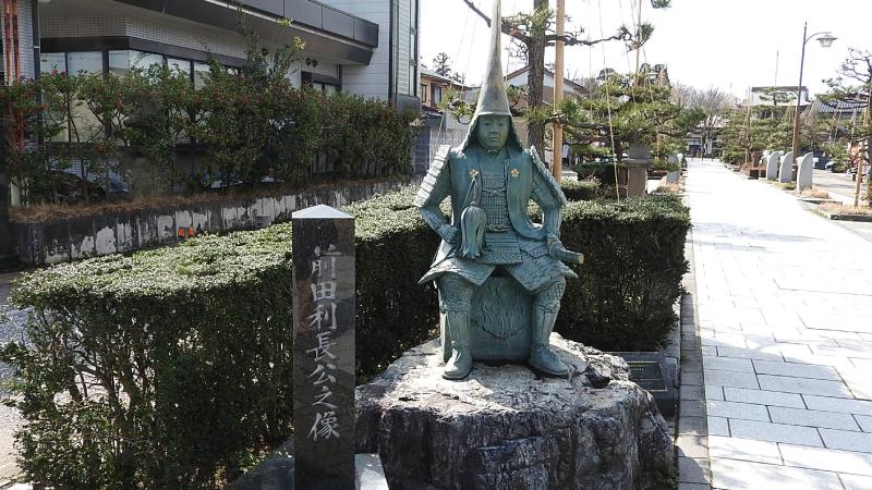 前田利長像