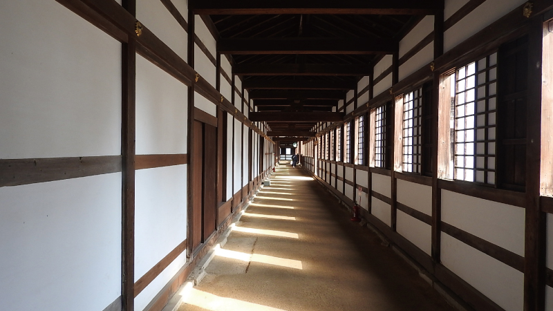 瑞龍寺廊下