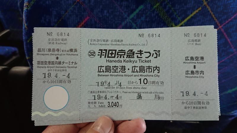 羽田京急きっぷ