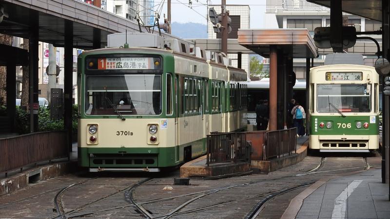 広島駅路面電車
