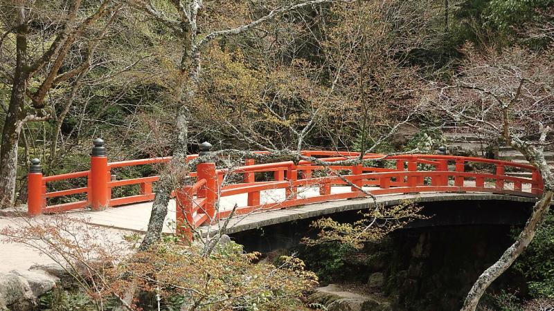 紅葉谷公園もみじ橋