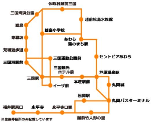 永平寺東尋坊2日フリーきっぷ