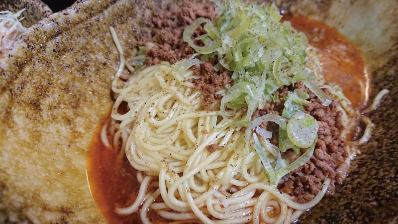 広島宮島汁なし担々麺