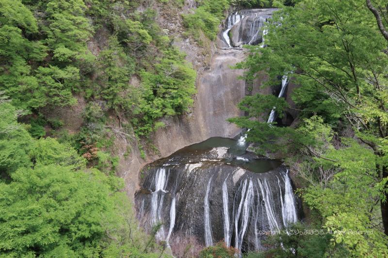 袋田の滝全体