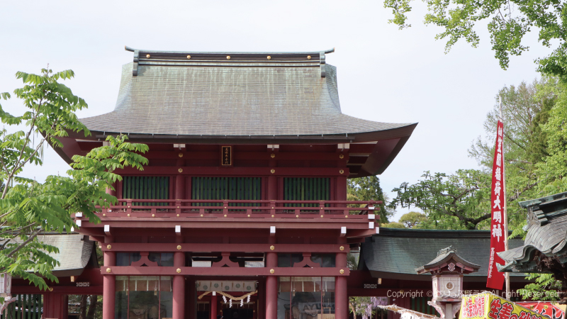 笠間稲荷神社萬世泰平門