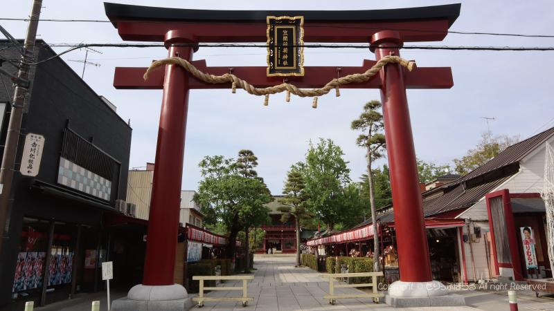 笠間稲荷神社鳥居