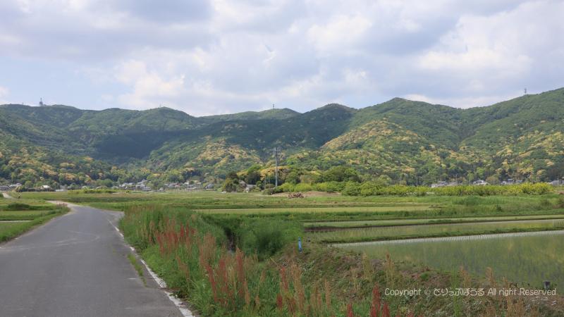 小町伝説田園風景