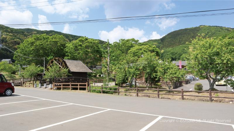 小町の館駐車場