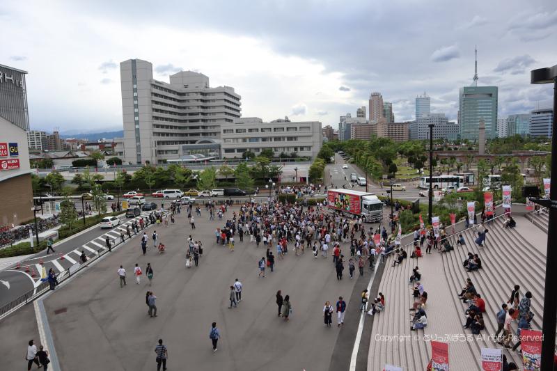 ツアトラと福岡ドーム周辺
