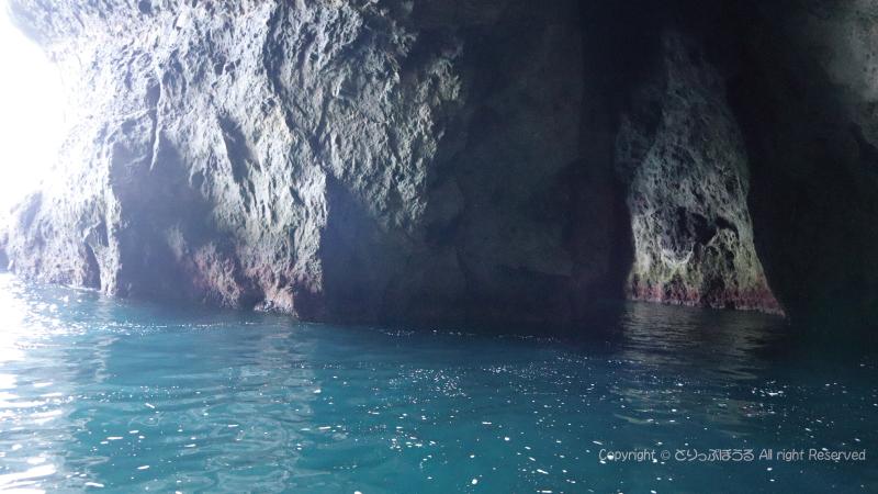 青の洞窟内2