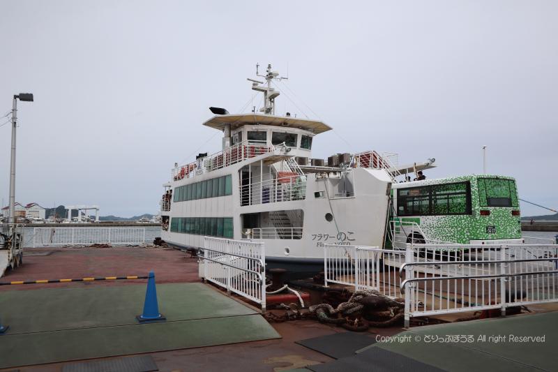 姪浜渡船場フェリー