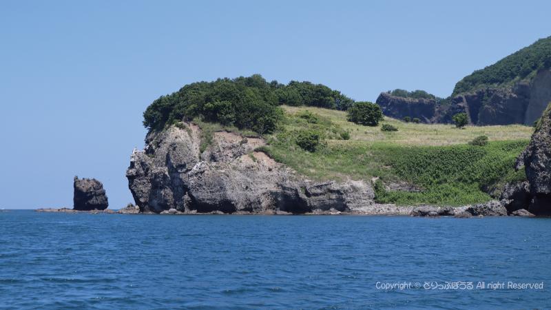 青の洞窟探検クルーズ突端