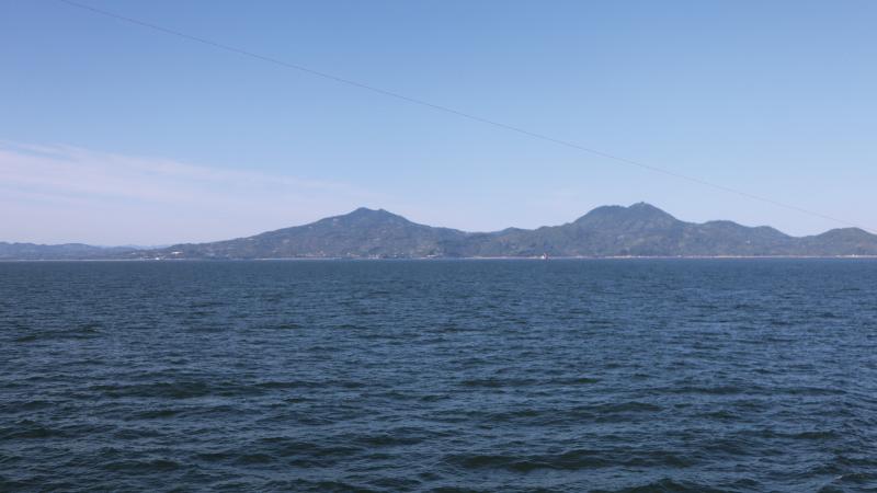 熊本から見た島原