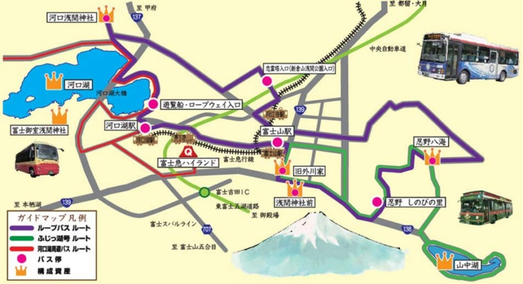 富士山世界遺産ループバス