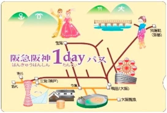 阪急阪神1dayパスフリーエリア