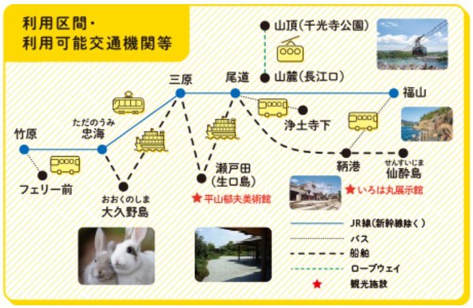 せとうち観光アプリ