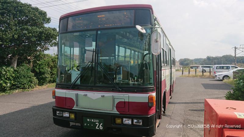 佐貫駅からマザー牧場への路線バス