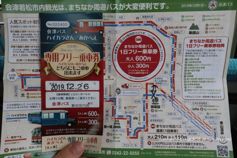 まちかど周遊バス1日乗車券