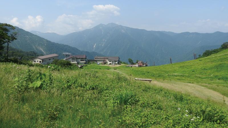 天神平谷川岳