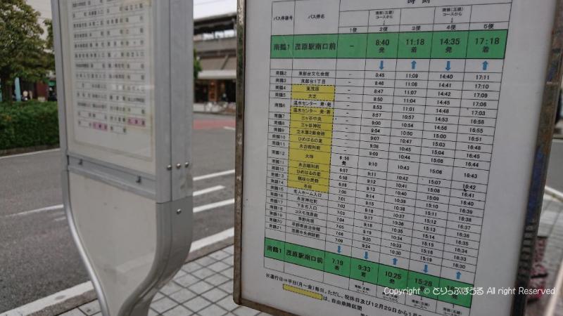 モバス時刻表