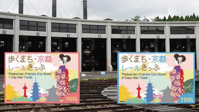 歩くまち京都レールきっぷ
