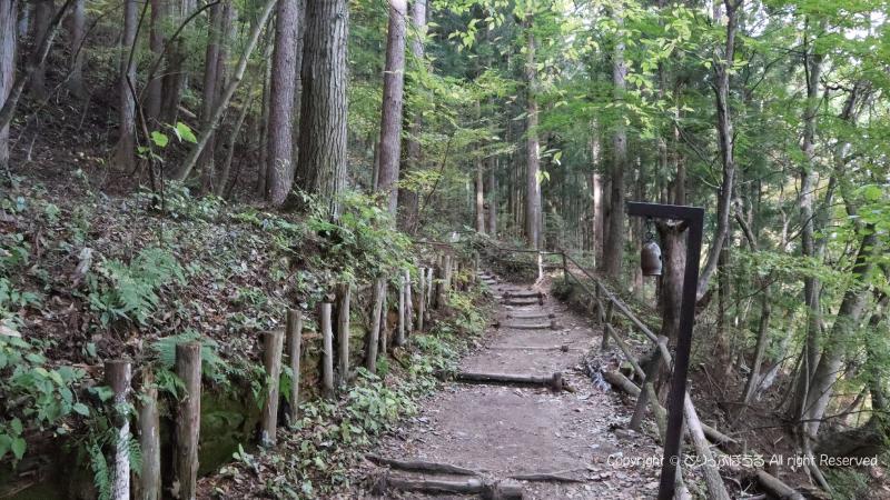 吹割の滝遊歩道上り階段