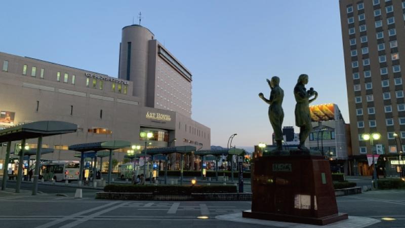 AC弘前駅前
