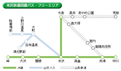 TOHOKUMaaS米沢赤湯回廊フリーエリア