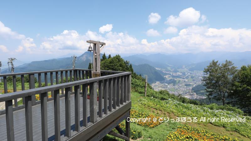 湯沢高原雲の上カフェフォトスポット