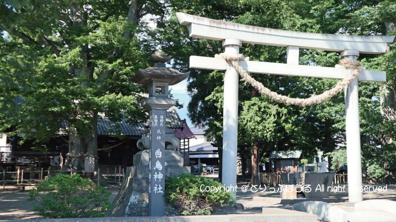 海野宿白鳥神社